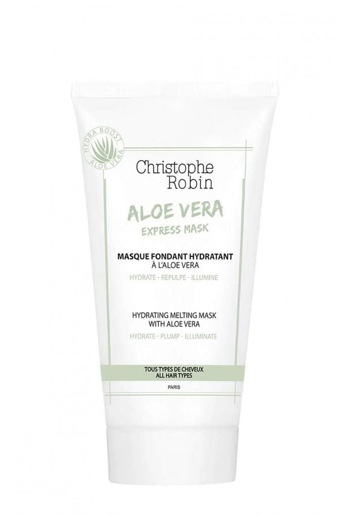 Купить HYDRATING MELTING MASK WITH ALOE VERA, Маска для волос увлажняющая питательная с эффектом блеска Christophe Robin