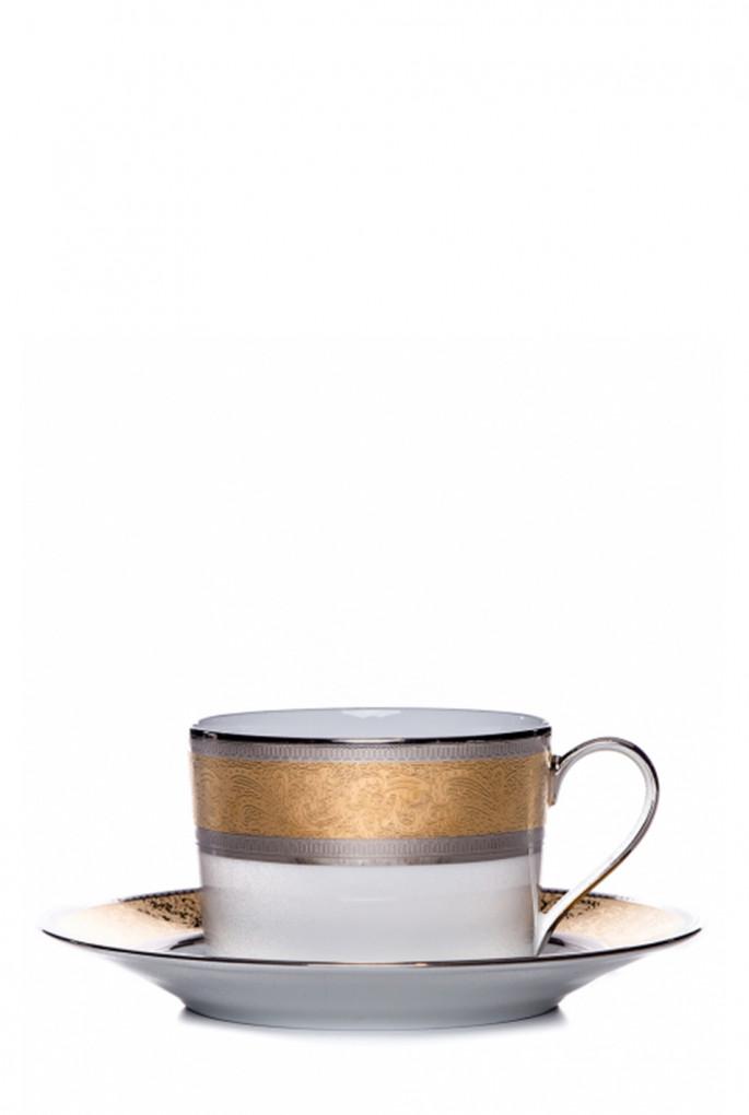 Купить Чашка с блюдцем Grand Palais Gold Dinnerware FABERGE