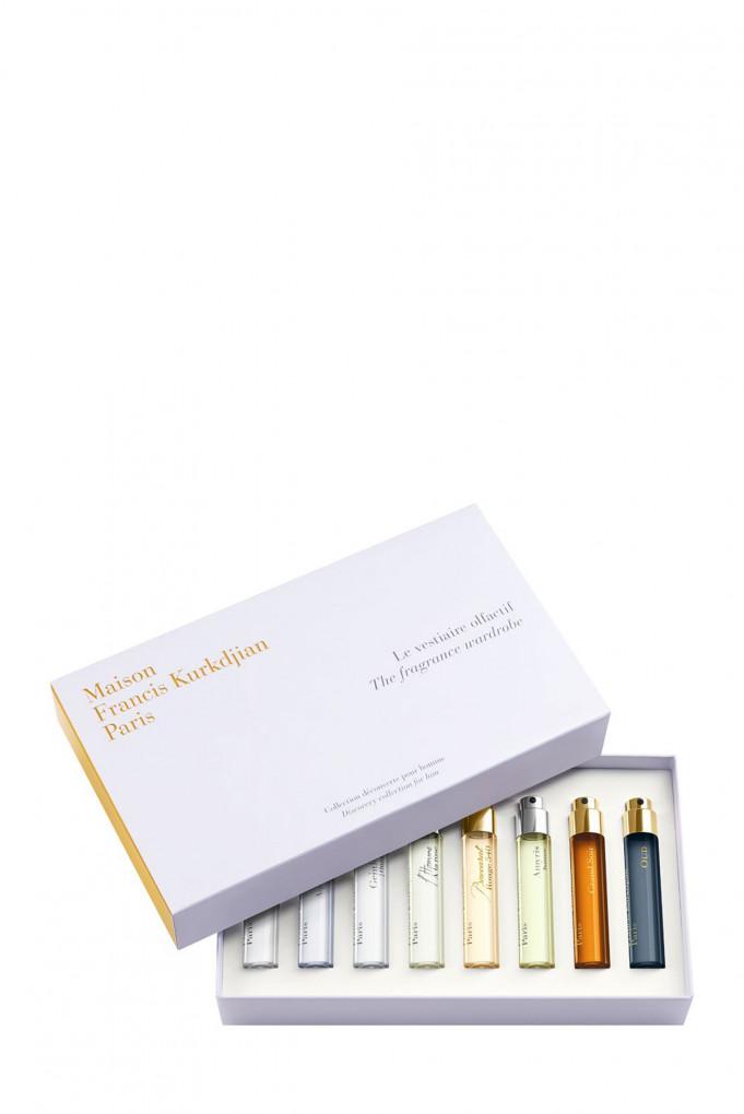 Купить THE FRAGRANCE WARDROBE - DISCOVERY COLLECTION FOR HIM 2020, Набор ароматов, 11 мл х 8 Maison Francis Kurkdjian