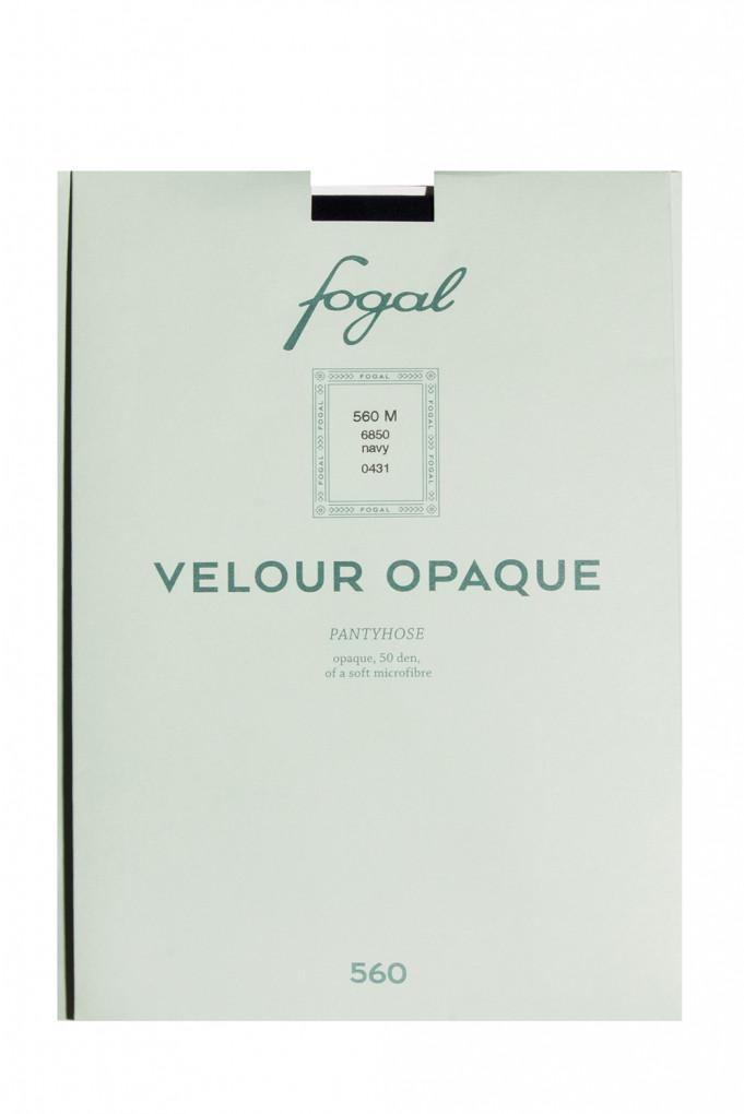 Купить Колготы Velour Opaque, 50 den, navy Fogal