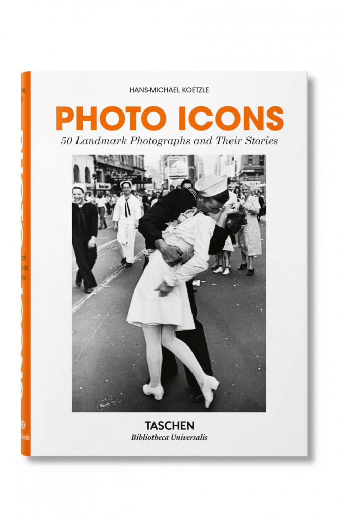 Купить Книга в твердой обложке, PHOTO ICONS. 50 LANDMARK PHOTOGRAPHS AND THEIR STORIES Taschen