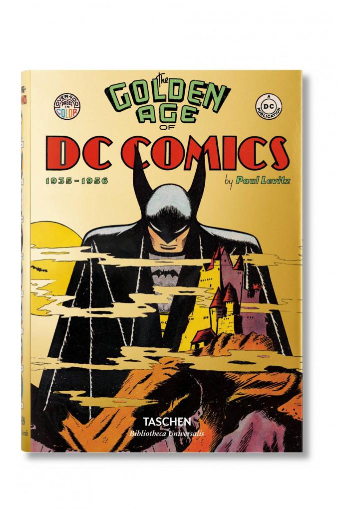 Купить Книга в твердой обложке, THE GOLDEN AGE OF DC COMICS Taschen