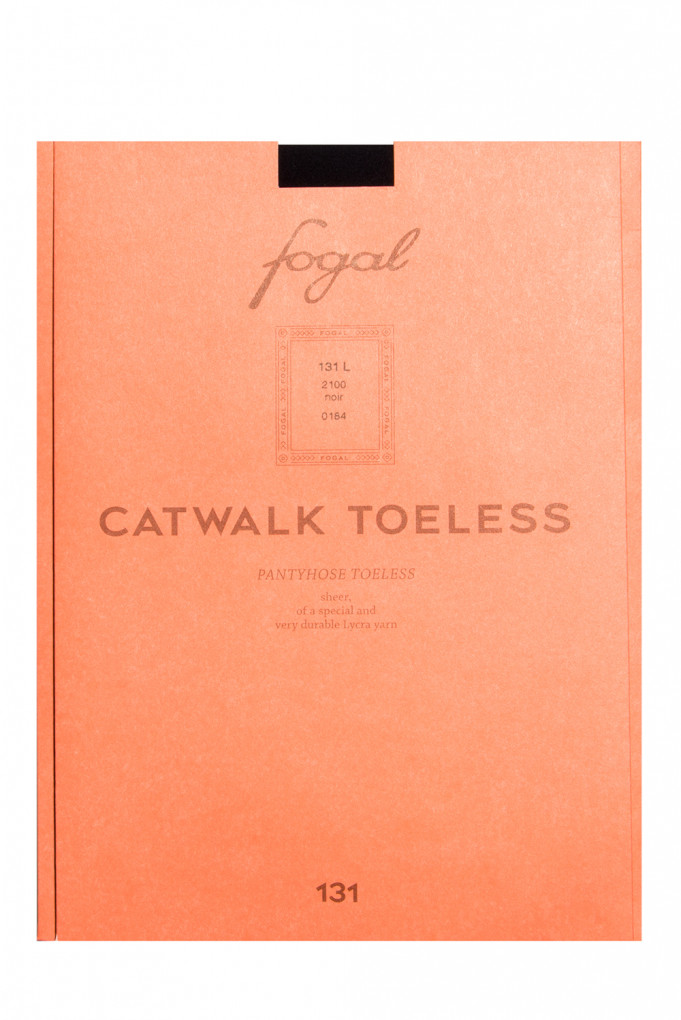 Купить Колготы Catwalk Toeless, 10 den, noir Fogal