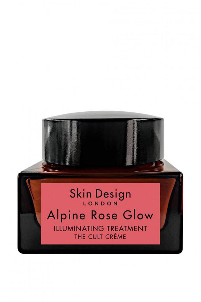 Купить ALPINE ROSE GLOW, Крем для лица и шеи осветляющий увлажняющий антиоксидантный, 50 мл Skin Design London