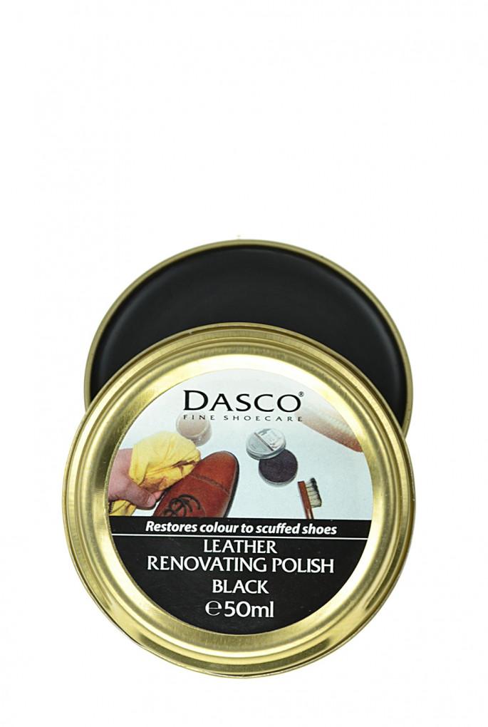Купить Крем для восстановления кожи Leather Renovating Polish - Black, 50 мл Dasco